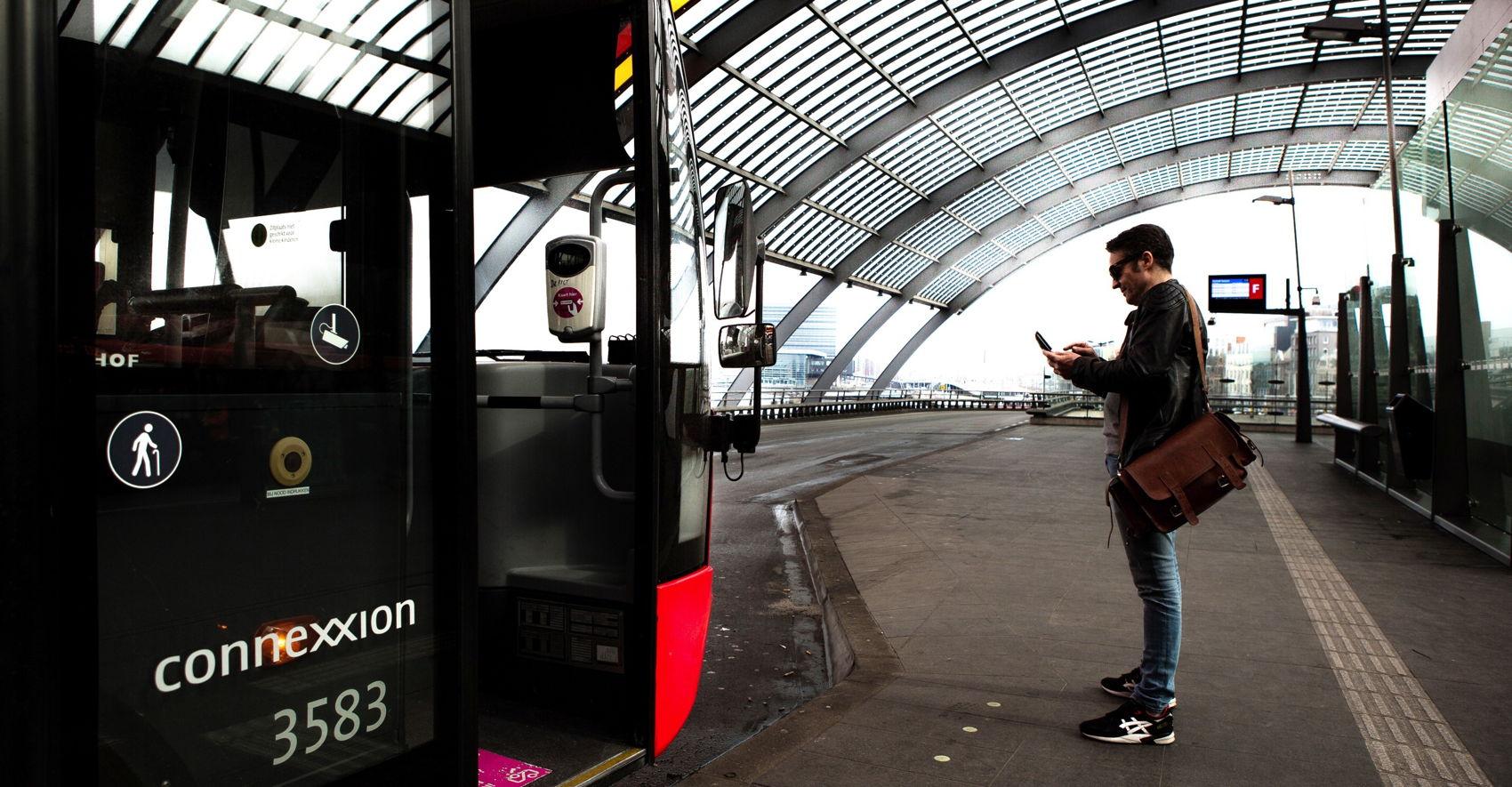 Lijnennet Het Openbaar Vervoer Van Naar En In Amsterdam