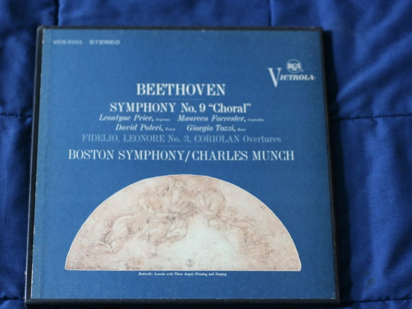 Boston Symphony/Charles Munch - Beethoven Symphony NO. 9 RCA Victrola VICS-6003