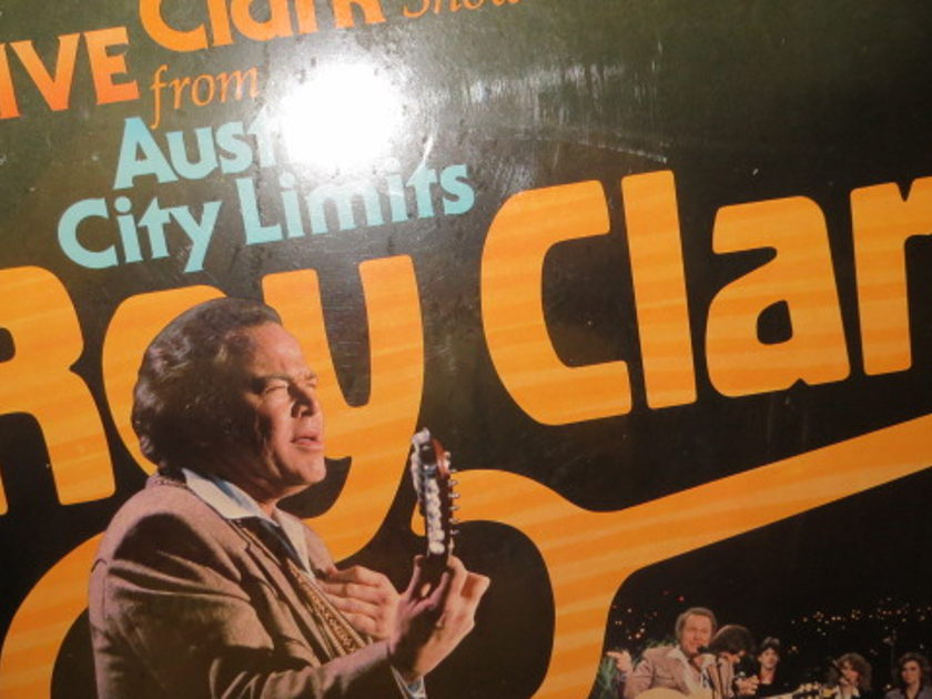 ROY CLARK - LIVE FROM AUSTIN CITY LIMITS SHRINK STILL ON COVER