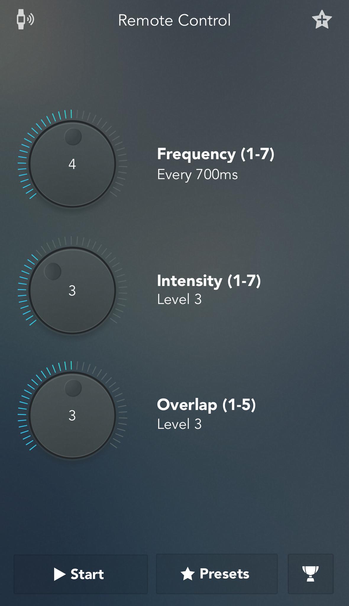 Custom Remote COntrol Settings