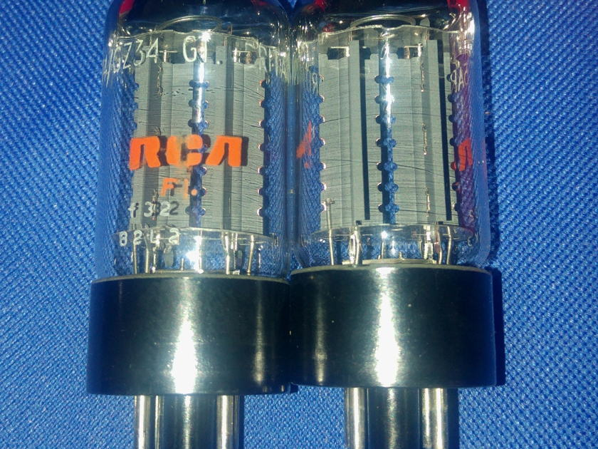 MULLARD Labeled RCA UK Made GZ34 5AR4 f32 Absolutely News NOS tested, the Best GZ34