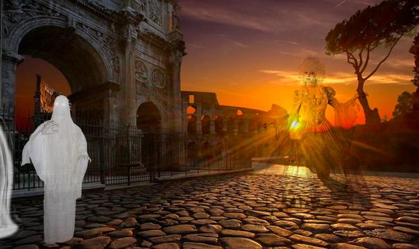 Знаменитые Призраки Вечного города