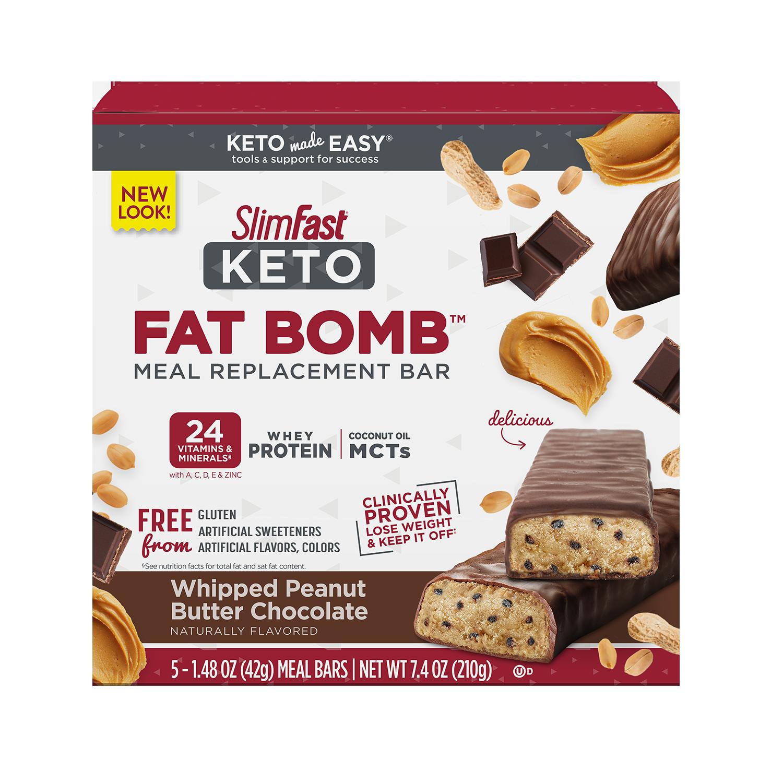 Keto Fat Bomb Caramel Nuts & Chocolate