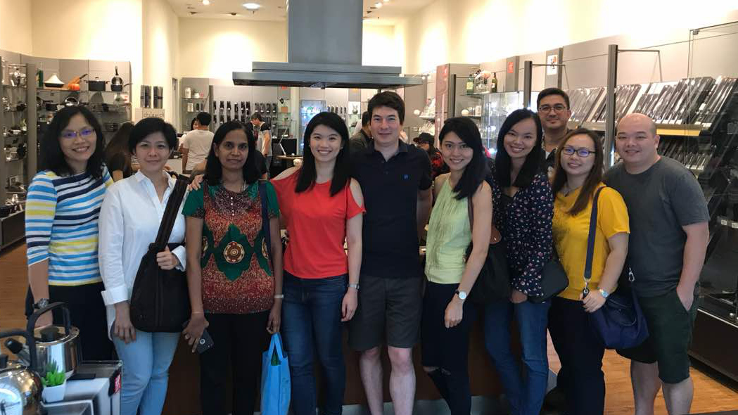 Meet and greet in Kuala Lumpur at Zwilling Store