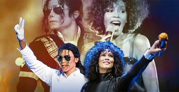 При партнерстве «Авторадио» в Северной столице пройдет трибьют-шоу «Майкл Джексон & Уитни Хьюстон»