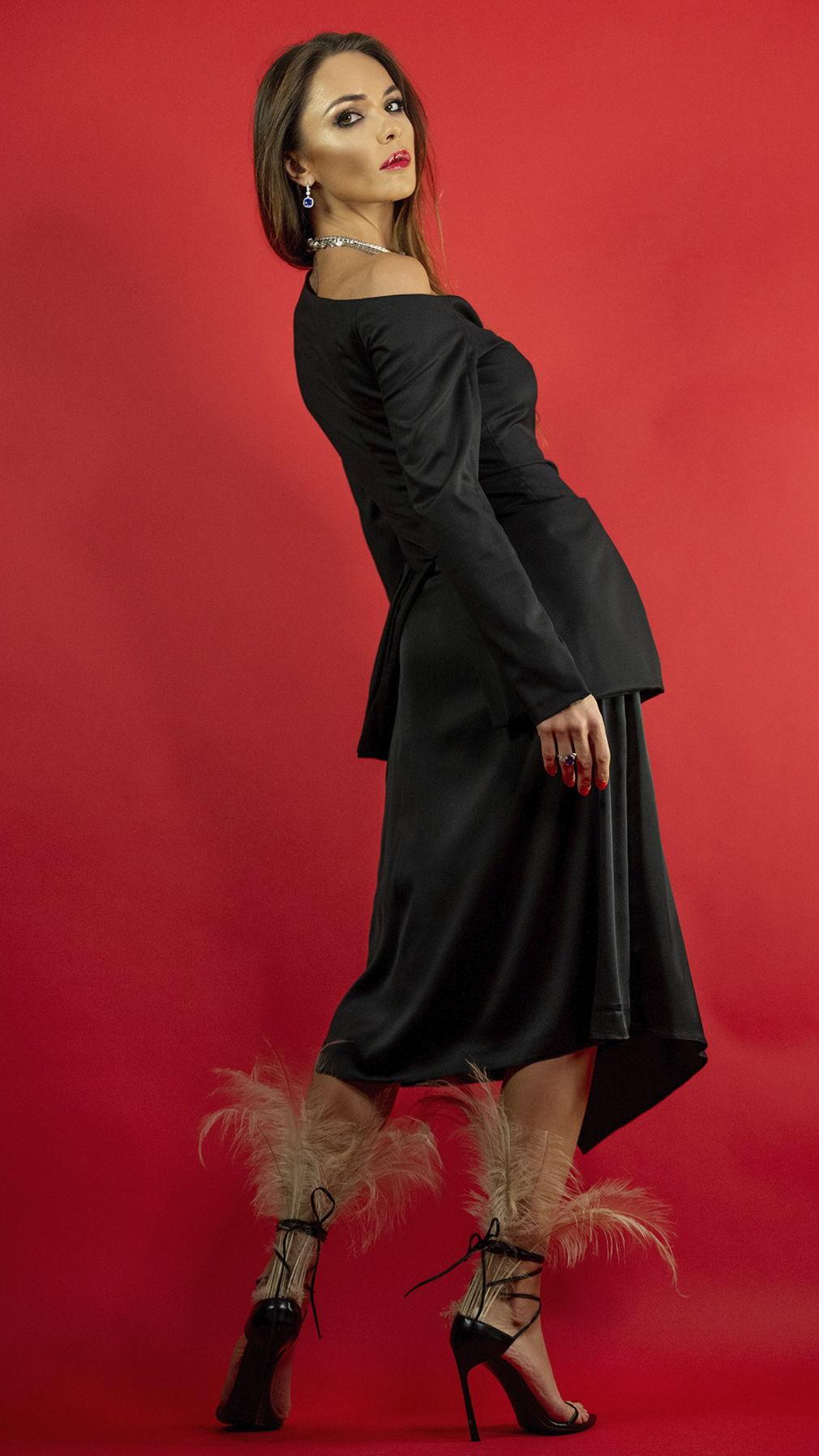 Жакет Naked Shoulder