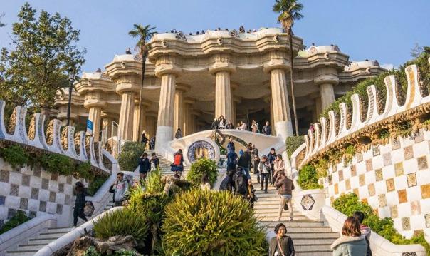 Барселона: входной билет в парк Гуэль