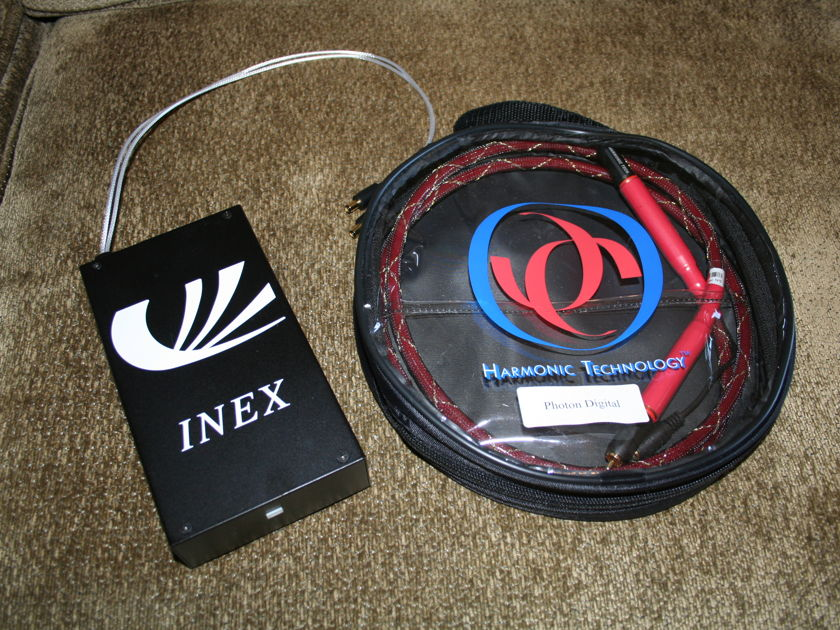 Harmonic Technology Photon Digital w/ Inex p.s. AWESOME -- (see pics)
