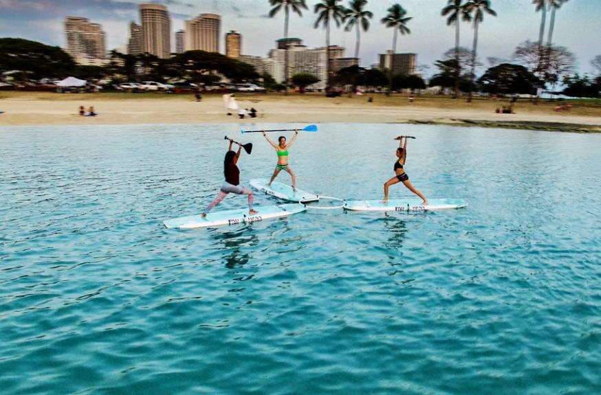 Waikiki SUP Yogi session