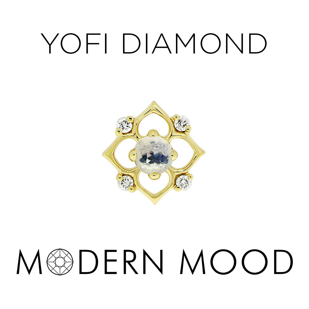 yofi diamond piercing jewelry