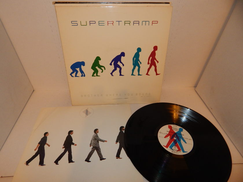 SUPERTRAMP Brother Where You Bound - David Gilmour Pink Floyd Thin Lizzy 1985 Ludwig Masterdisk EDP LP