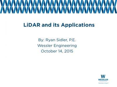 LiDAR and Its Applications