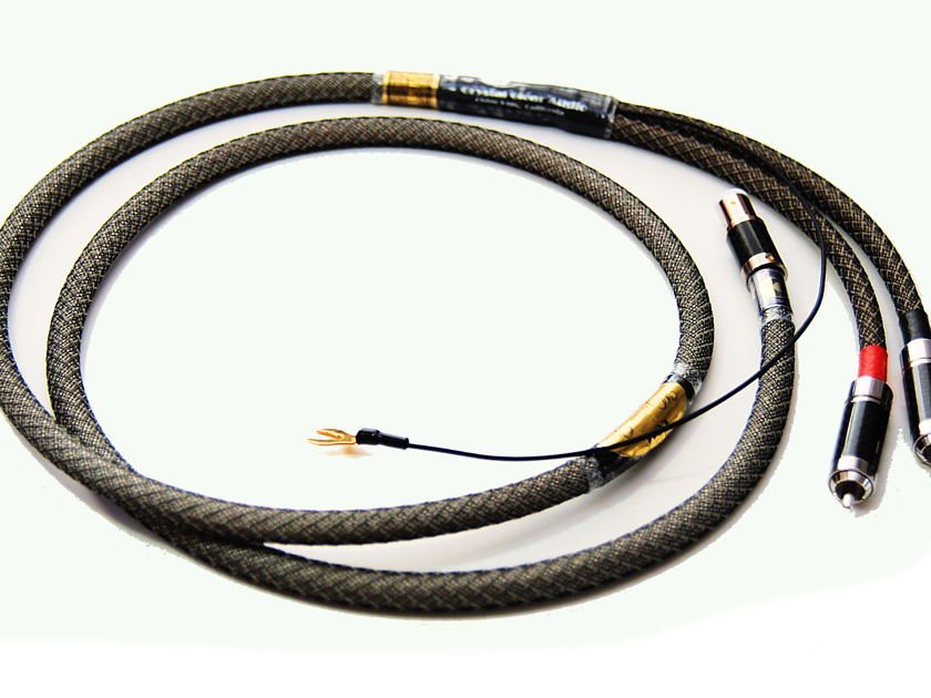 Crystal Clear Audio Magnum Opus Series Phono Tonearm Cable 1.5m