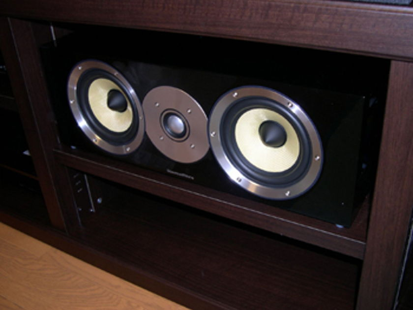 Bowers and Wilkins B&W CM Centre Gloss Black  Open Box Demo - LIKE NEW