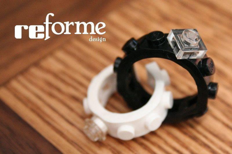 lego Wedding Rings