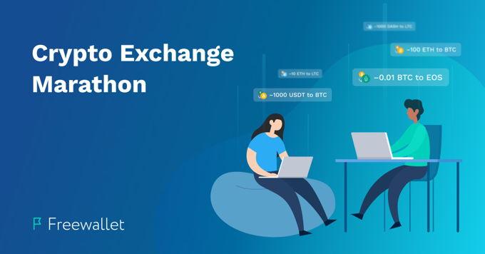 Crypto Exchange Marathon by Freewallet