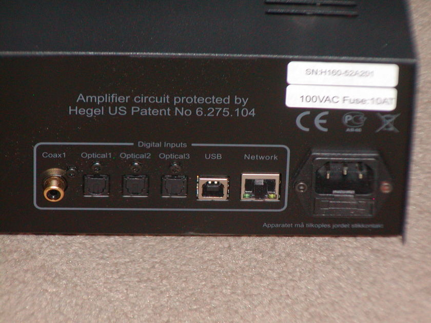 Hegel H160 Integrated Amplifier