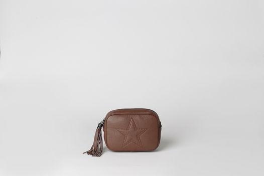 Кожаная маленькая сумка через плечо AMY leather mini cross body bag