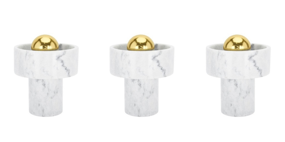 To Dixon Stone Table Lamp white marble