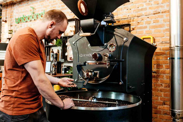 florian mayrhofer röstet kaffee unbound
