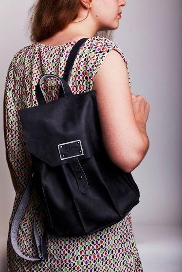 Женский городской рюкзак -Satellite- цвет Black Carbon