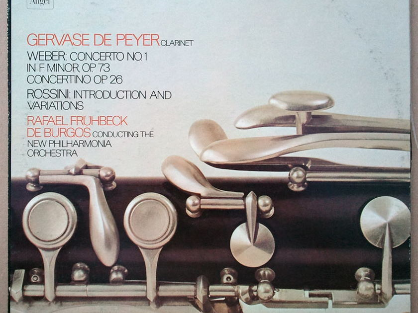 ANGEL | WEBER - Clarinet Concerto No. 1, Concertino, ROSSINI Introduction and Variations / EX
