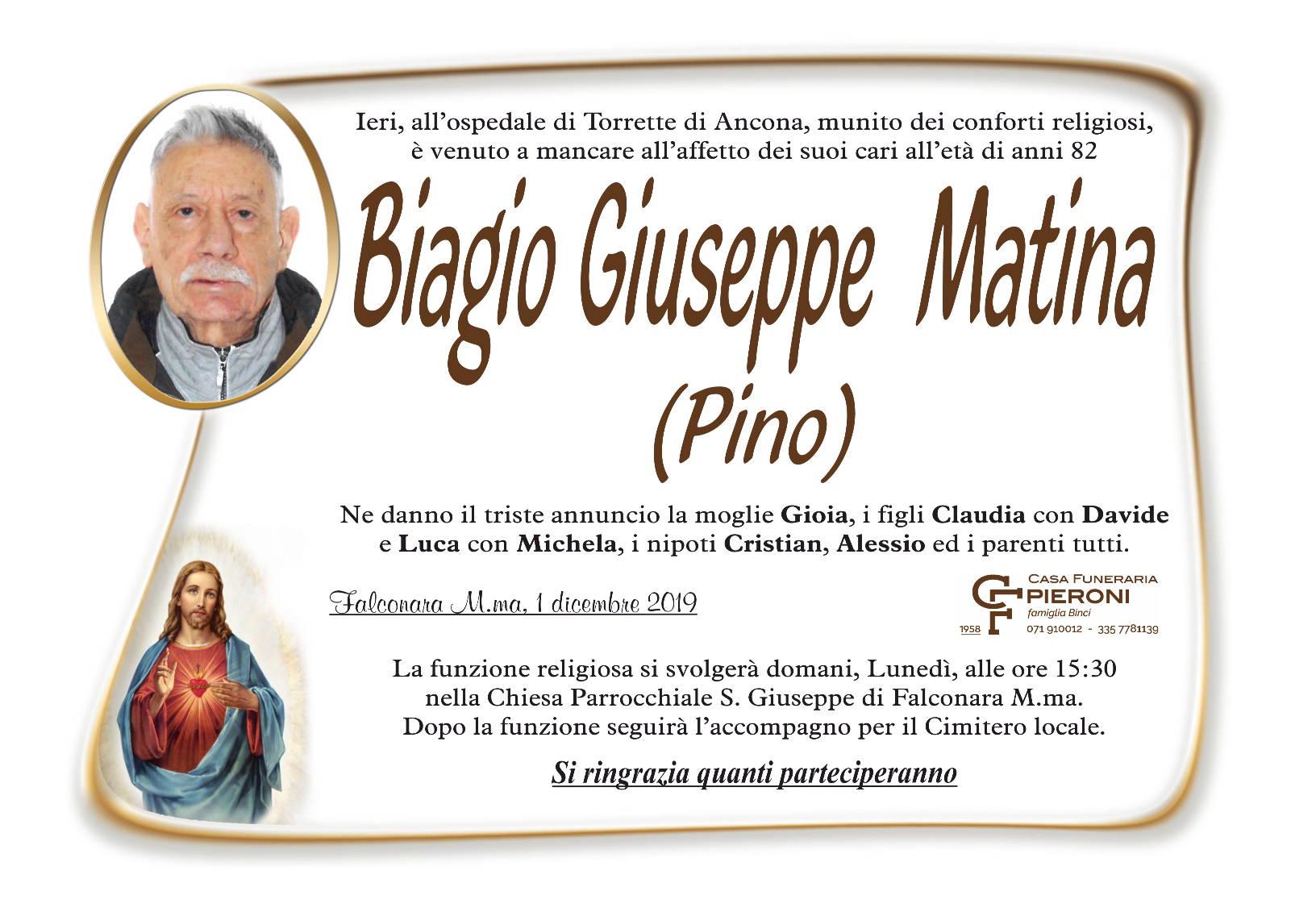 Biagio Giuseppe Matina