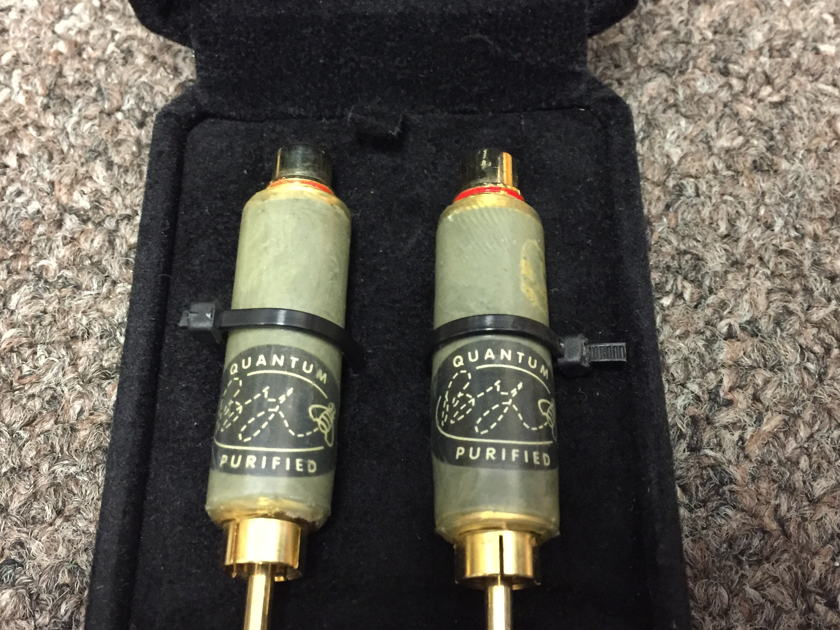 Bybee Technologies Quantum Purifier Magic Bullet II mini Interconnect Bullets