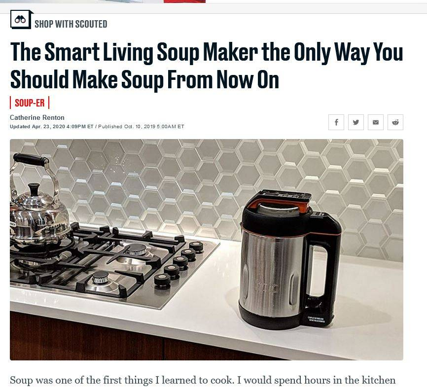 soup maker article