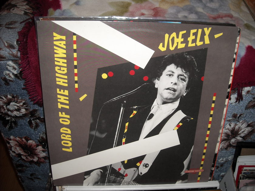 Joe Ely - Lord Of The Highway Hightone Records LP (c)