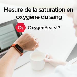 Amazfit Band 5 - Mesurez votre niveau d'oxygène dans le sang à tout moment, n'importe où.