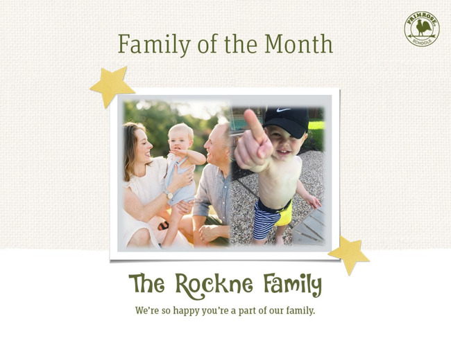 family of three primrose schools preston meadow mom dad son family of the month september