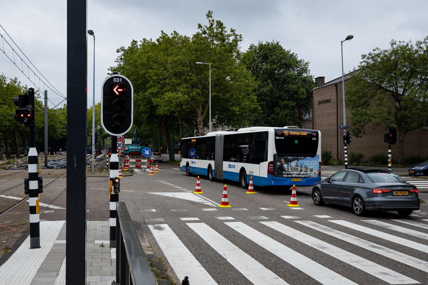 Laatste keer ook dat we bus 45 nodig hadden ter vervanging van tram 5.