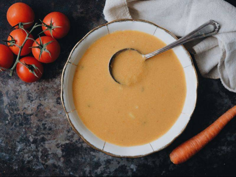 soupe de légumes toscane et fèves la boite du chef