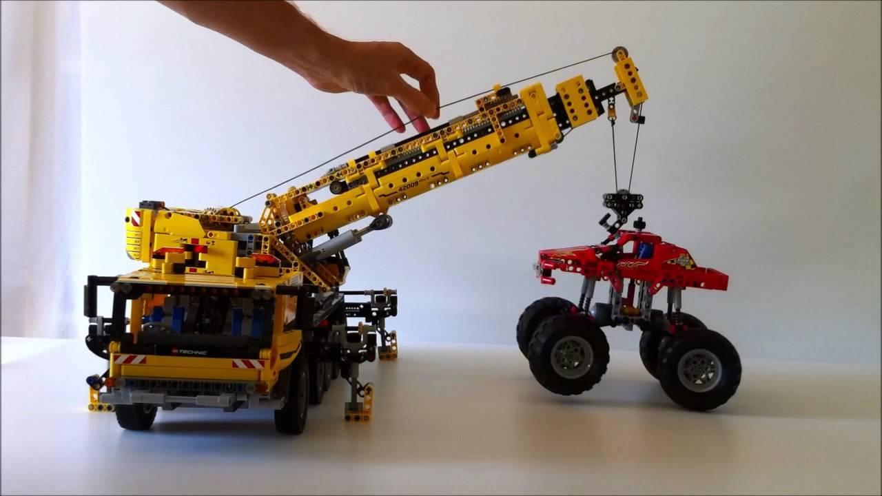 lego 42009 carry monster truck
