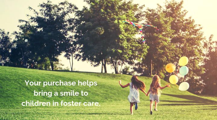ravensnap purchase helps bring a smile to children in foster care image
