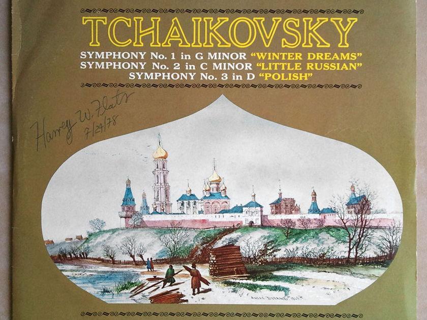 MERCURY   DORATI/TCHAIKOVSKY - Symphonies Nos. 1, 2, 3 / 2-LP / NM