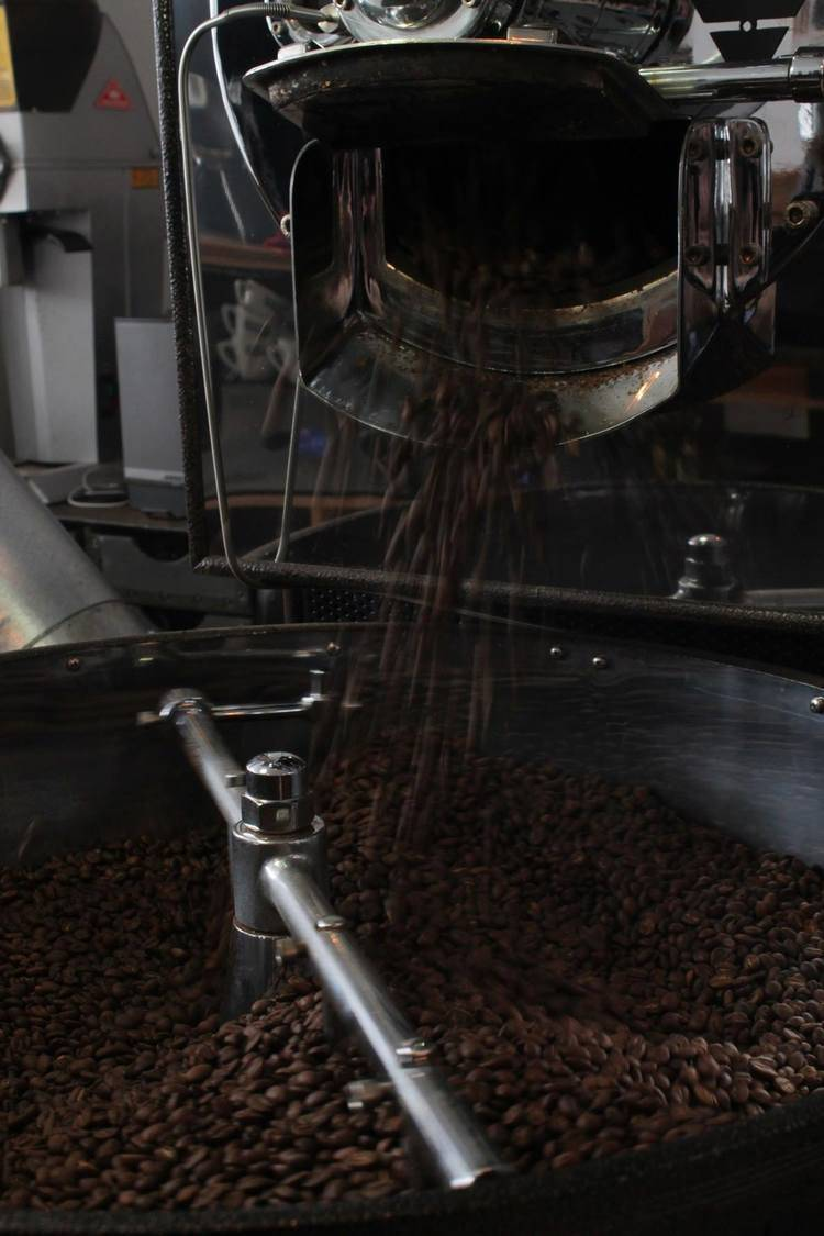 Roasting Coffee Image