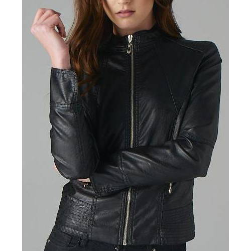 EcoVibe Apparel Vegan Leather Jacket