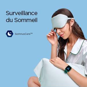 Amazfit Bip U Pro - Surveillance de la Qualité du Sommeil