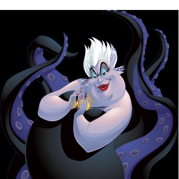 Ursula, The Little Mermaid, Disney Villains, Ursula/The Little Mermaid clothing and accessories, Disney Apparel