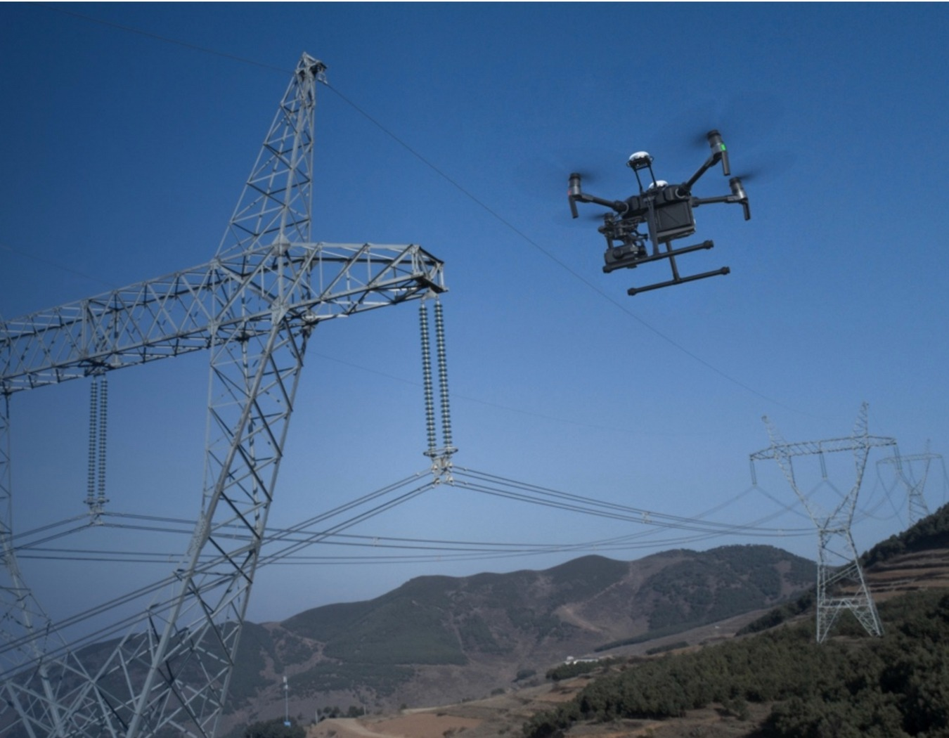 DJI Matrice 200 Series Power Line Inspections