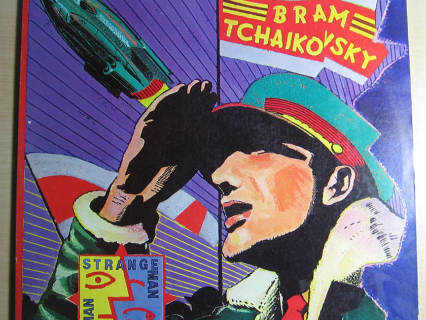 Bram Tchaikovsky - Strange Man, Changed Man - 1979 Polydor PD-1-6211