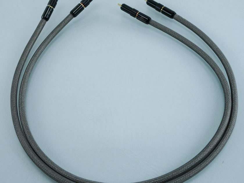 Tara Labs RSC Prime M1 RCA Cables; 1m Pair Interconnects (9549)