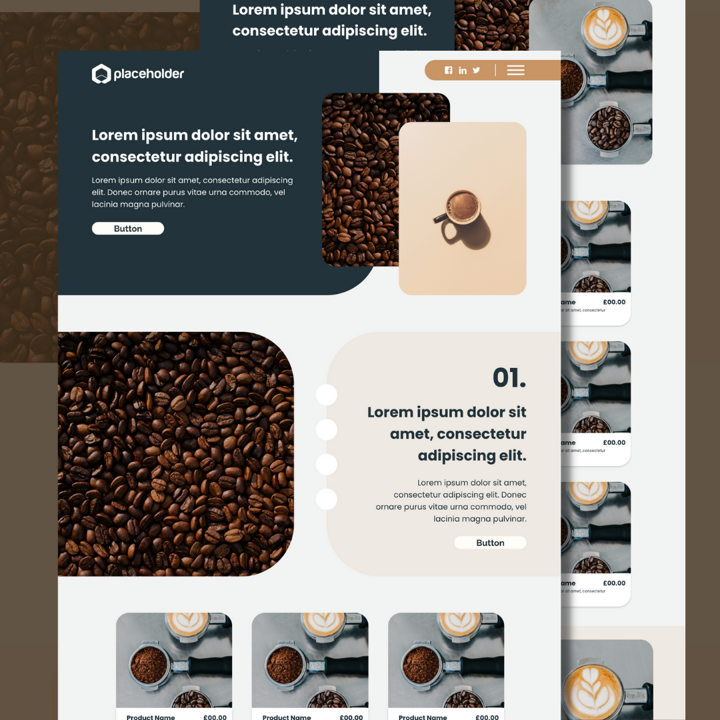 Coffee template's featured image