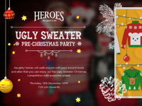 صورة UGLY SWEATER PRE-CHRISTMAS PARTY