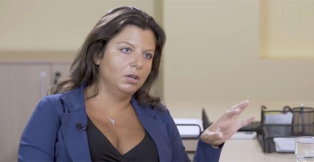 Симоньян отказалась говорить о Петрове и Боширове и едва не ушла с интервью Ксении Собчак - Новости радио OnAir.ru