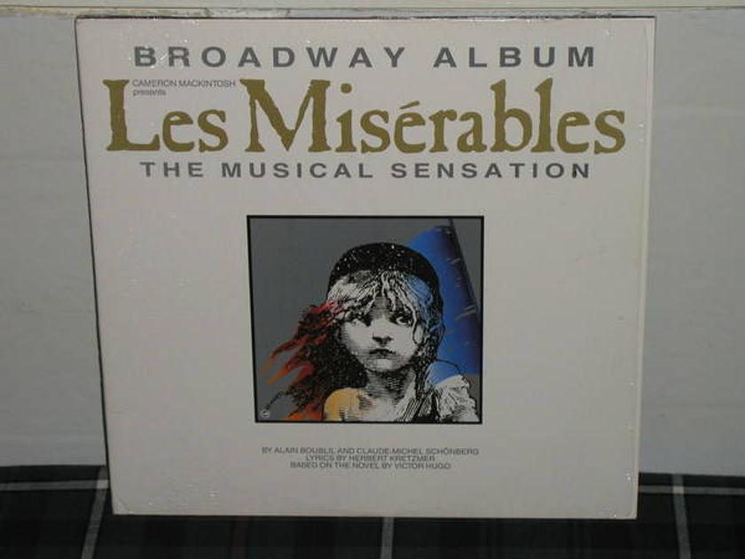 Broadway Album - Les Miserables Still in shrink 2 lp gatefold