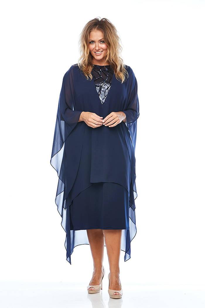 Layla Jones LJ0022 Midnight dress Eve Hunter Mother of the Bride/groom or wedding guest