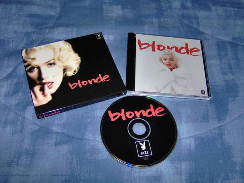 Blonde, Playboy Jazz - Blonde- Playboy Jazz tv series on marilyn monroe
